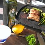 Grillet asparges med ricotta | Madmedmartin.dk