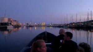 Indgang til Aarhus by night