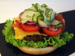 Cheese burger billede 7 | MadMedMartin.dk