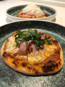 pizza med prosciutto cotto