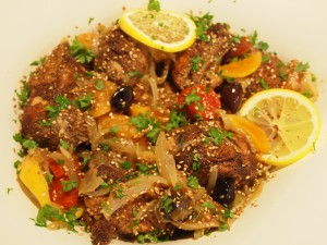 Marokkansk kylling tagine
