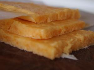 Hjemmelavede osteskiver til cheese burger