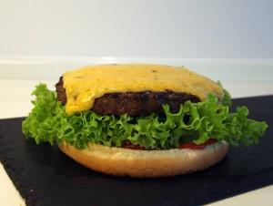 Cheese burger billede 3 | MadMedMartin.dk