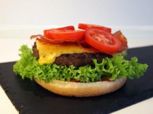 Cheese burger billede 5 | MadMedMartin.dk