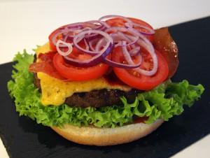 Cheese burger billede 6 | MadMedMartin.dk