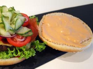 Cheese burger billede 8 | MadMedMartin.dk