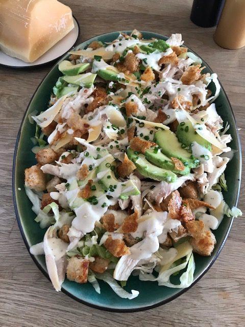 Cæsar Salat med Havgus fra Arla Unika